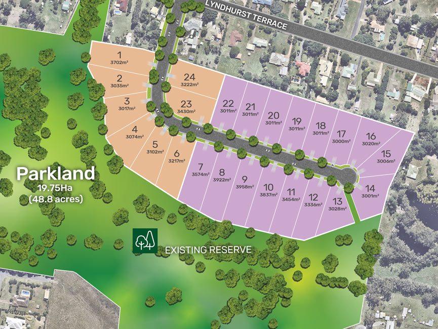 land for sale at The-lake - Large blocks